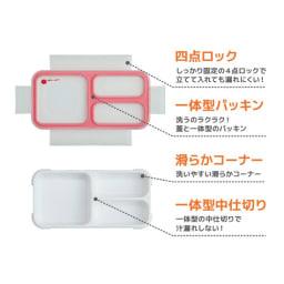 薄型弁当箱 フードマン Sサイズ