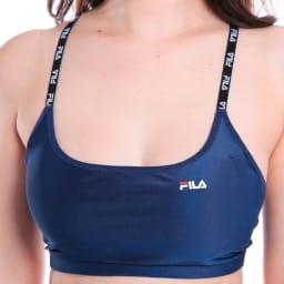FILA(フィラ)/水陸両用 ロゴ肩紐ブラトップ
