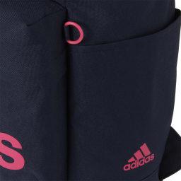 adidas(アディダス)/スクエアタイプリュック(20L) サイドポケット。チャームが付けれるDカン付
