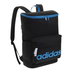 adidas(アディダス)/スクエアタイプリュック(20L) (カ)ブラック×ブルー
