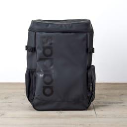 adidas(アディダス)/チェストベルト付スクエア型リュック(26L) (ア)ブラック