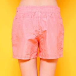 OP(オーシャンパシフィック)/ワンポイントロゴボードショーツ (ウ)ピンク/Back style
