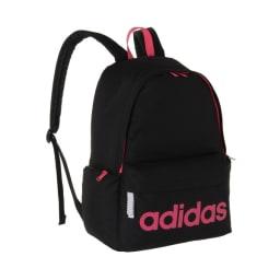 adidas(アディダス)/ジラソーレIV B4対応リュック 23L (エ)ブラック×ピンク