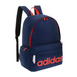 adidas(アディダス)/ジラソーレIV B4対応リュック 23L (オ)ネイビー×オレンジ