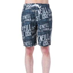 O'NEILL(オニール)/POPなロゴのメンズトランクス (ア)ブラック