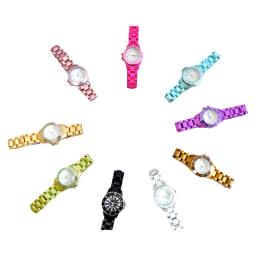 シロ エノグ ダイバースタイルウォッチ 腕時計[SIRO] ネイル、洋服、季節に合わせて時計を選んでもらえる様なカラー展開