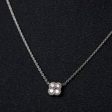 18金ダイヤネックレス