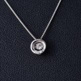 グレーシャスダイヤ プラチネックレス サークル 写真