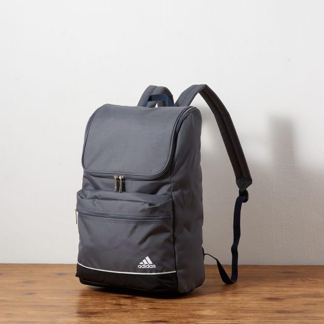 adidas(アディダス)/B4対応リュックサック (エ)グレー