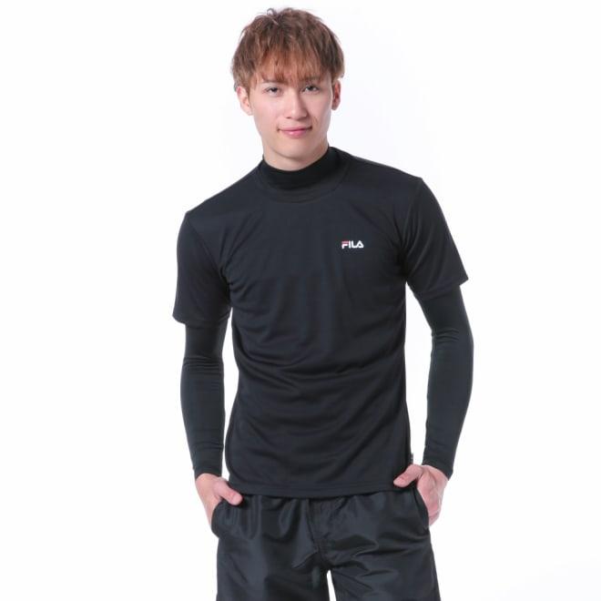 FILA(フィラ)/無地Tラッシュ (ウ)ブラック
