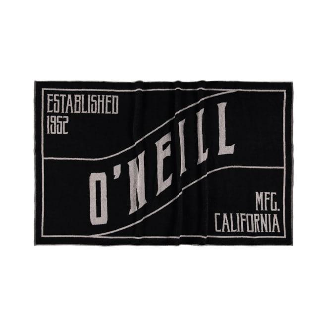 O'NEILL(オニール)/ビッグサイズタオルケット (ア)ブラック
