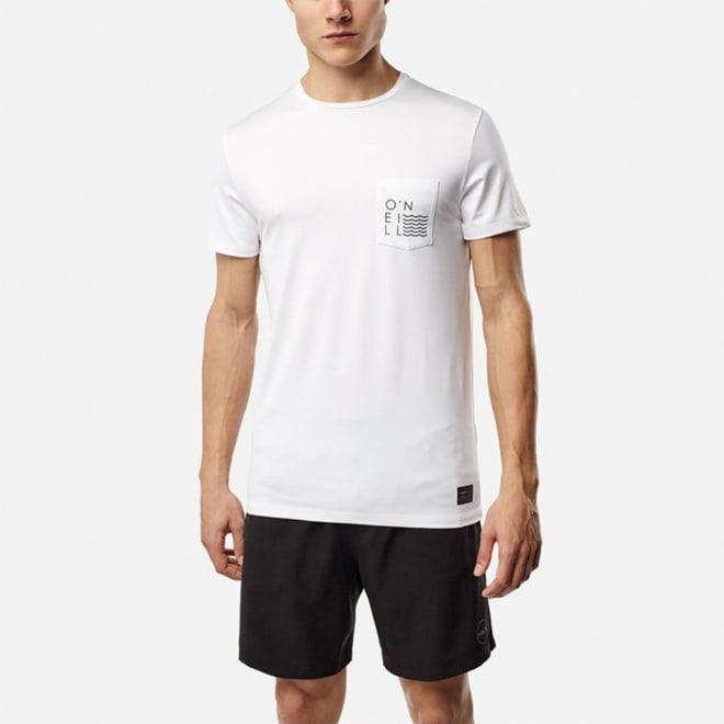 O'NEILL(オニール)/UPF50+肌を守れるメンズシンプルUVTシャツ (イ)ホワイト