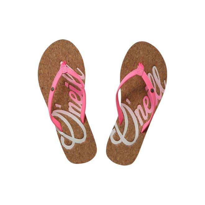 O'NEILL(オニール)/ベーシックデザインレディースビーチサンダル (ア)ピンク