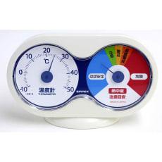 温度計 温度と熱中症注意目安