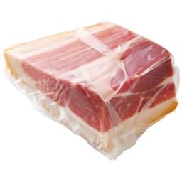 群馬産 麦豚の生ハム(ミニ原木300g) 商品パッケージ
