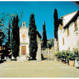 エキストラバージンオリーブオイル フレスコバルディ ラウデミオ (500ml) イタリア・トスカーナにあるフレスコバルディ侯爵家の邸宅。