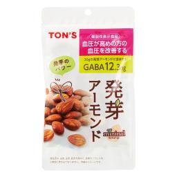 mininaru(ミニナル) 発芽アーモンド【機能性表示食品】(60g×10袋)「TON'S」 商品パッケージ