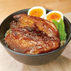 アボ豚バラ肉の厚切り蒲焼 (150g×6個) 写真
