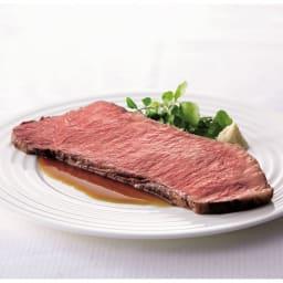 「ローストビーフの店鎌倉山」 黒毛和牛サーロインローストビーフ (500g) 【盛り付け例】