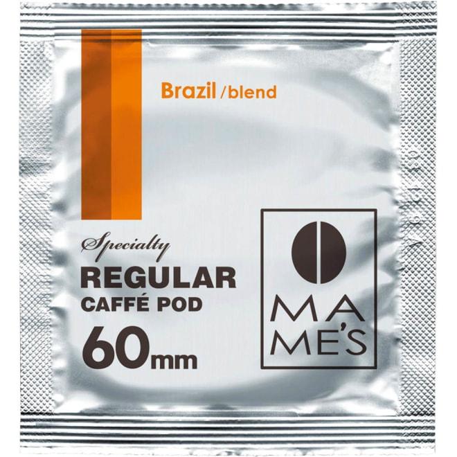 60ミリポッド セルフチョイス 30×3(90杯分) (ア)ブラジルブレンド…濃厚なコクと甘みにしっかりしたボディをプラス。味わい深く飲みごたえのあるブレンド。