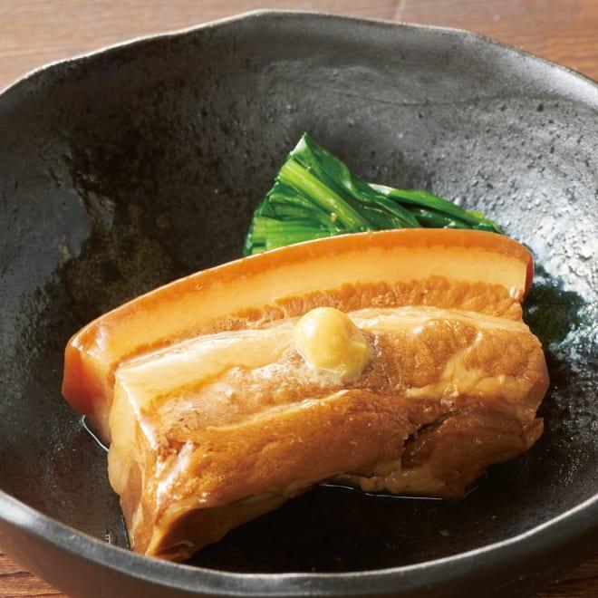 長崎「角煮家こじま」 角煮 (65g×8個) 盛り付け例