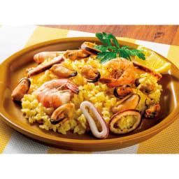 炊飯器で炊く簡単パエリア (4袋) 【調理例】