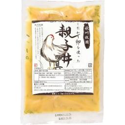 秋川牧園 親子丼の具 (180g×7パック) 商品パッケージ