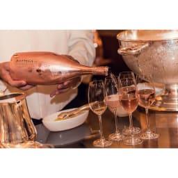 【スパークリングワイン】ボッテガ ロゼ ゴールド (750ml) まさにパーティや女子会などに華を添えるスパークリングワインです。