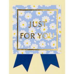 【シール】ドルチェ・ディ・ロッカ カリーノ くまの焼き菓子 60個入り こちらの商品にはありがとうの気持ちを込めた「Just for you」シールが1包装ごとにつきます。