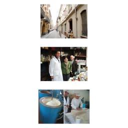 D.BARBERO/バルベロ トリュフ白缶 トロンチーニ入り (12粒)【通常お届け】 【バルベロのイメージ】(上)町の風景/(中)人々/(下)製造風景