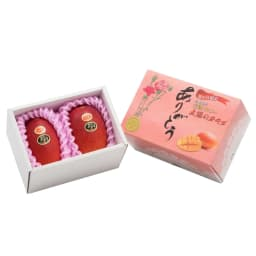 【母の日ギフト】宮崎産マンゴー「太陽のタマゴ」(母の日) お届けカット
