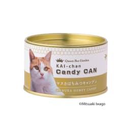 岩合光昭さんサイン印字入り 海ちゃん&たま 2種のマヌカキャンディ缶 (計6缶)