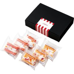 六本木アマンド フローズンフルーツケーキ (2種計6個) 【お届けパッケージ】