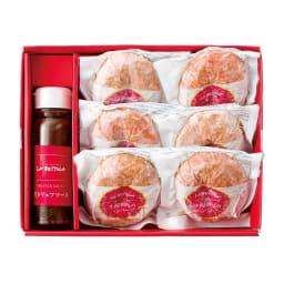 【お中元】落合務シェフ監修 牛肉100%のハンバーグ(黒トリュフソース) (150g×6個) (8月上旬お届け) 商品パッケージ