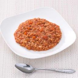 7年保存アレルギー対応レトルト食品セット 【盛り付け例】トマトリゾット