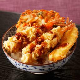 夏のお惣菜福袋 えび天丼 【盛り付け例】