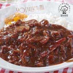 お店の味 夏の惣菜福袋 ヨシカミハヤシライスの具 【盛り付け例】