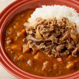 吉野家 超特盛牛丼の具 5食セット 【アレンジ例】牛あいがけカレー