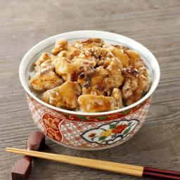 神田明神下「喜川」国産鶏の焼き鳥丼の具8食セット 【盛り付け例】