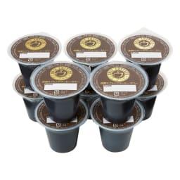 「リエコーヒー」 水出しコーヒーゼリー (100g×10個) お届けパッケージ