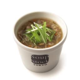 「スープストックトーキョー」和のスープと夏の人気スープセット 【盛り付け例】生姜入り和風スープ