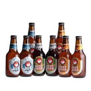常陸野ネストビール 飲み比べ 写真