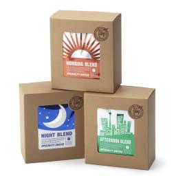 MAME'S/マメーズ ドリップALLDAY (3種計15袋セット) モーニング・アフターヌーン・ナイトの3つのブレンドをセットしてお届けします。