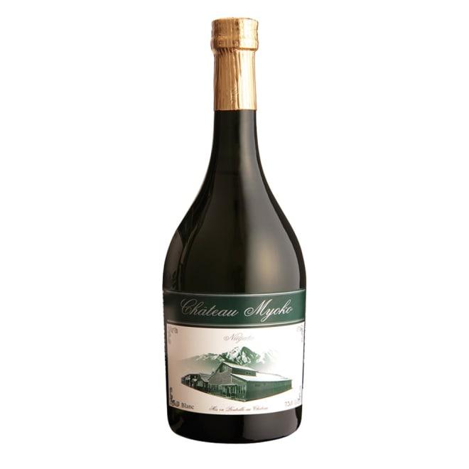 【日本酒】特別純米酒「シャトー妙高」 (720ml) ボトルの雰囲気にもこだわったシャンパンのようなおしゃれなボトル。