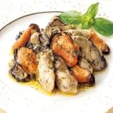 三陸産 かきとムール貝のオリーブオイル漬 (150g×4瓶) 写真