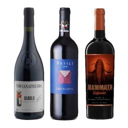 イタリア赤ワイン フルボディ3本セット