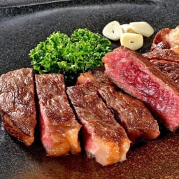 北海道産 熟成牛肉 サーロインステーキ  (200g×2枚) ※イメージ画像
