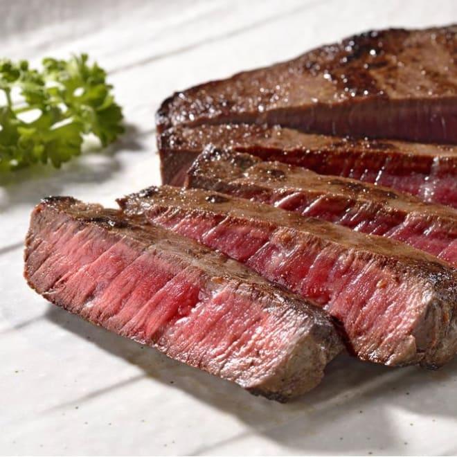 北海道産 熟成牛肉 モモステーキ  (200g×2枚) ※イメージ画像