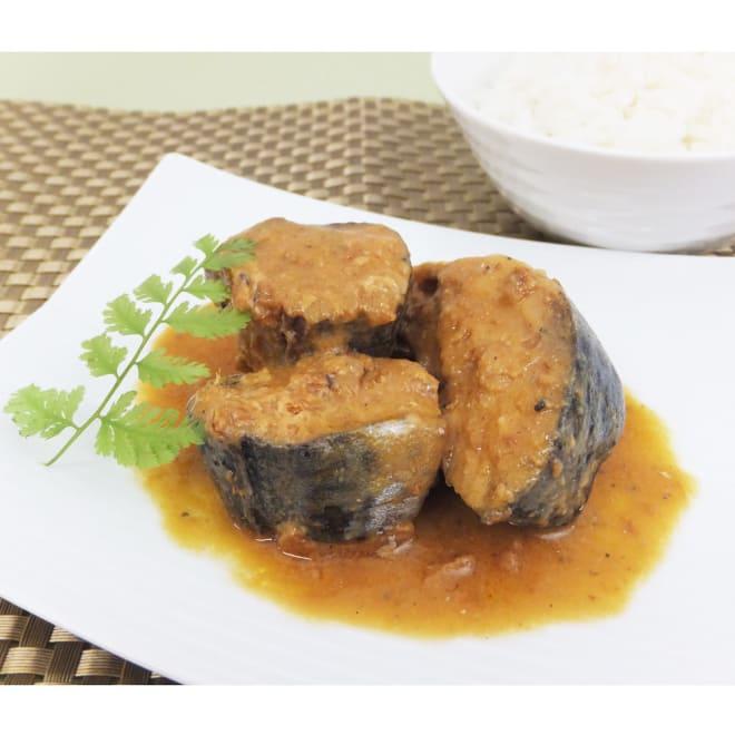 鯖味噌煮 酒粕&八丁味噌 (2種 各4缶) 【盛り付け例】