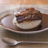 北海道肉ソン大統領の肉デカビーフカリー(300g×2箱) 写真